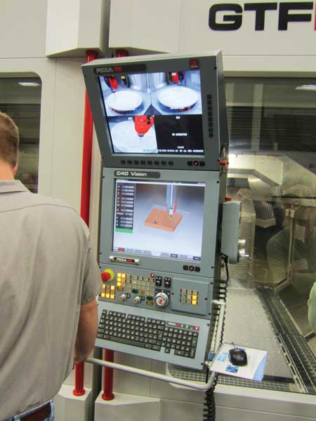 Fidia S New Gantry Milling Machine Now Being Built In Michigan
