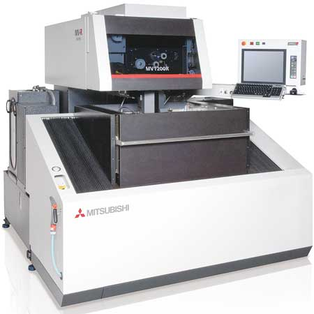 Mitsubishi EDM Combines Production Speed and Precision with MV Series
