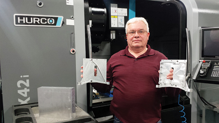 New Operators Find CNC Control Easy to Use