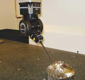 Turbocam International Applies New Renishaw Revo 5-axis