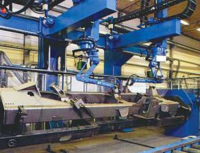 Robotic Transporters For Large Weldments