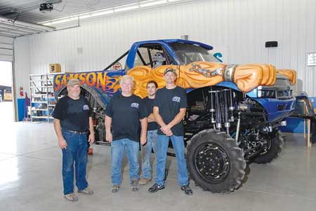 Machining Monster Truck Parts Propels Growth
