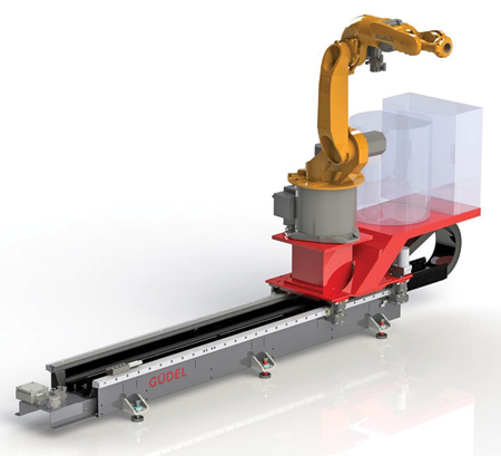 A Preconfigured TMF for High-Volume Robotic Welding