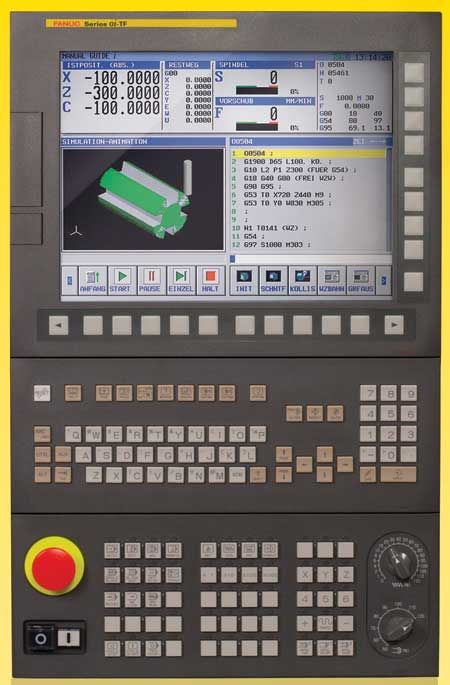 0i-F CNC with Commonality of Design and 15