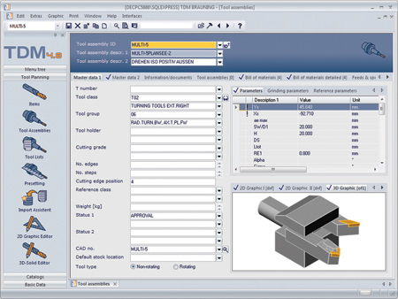 Tool Data Management Software Release 4 8