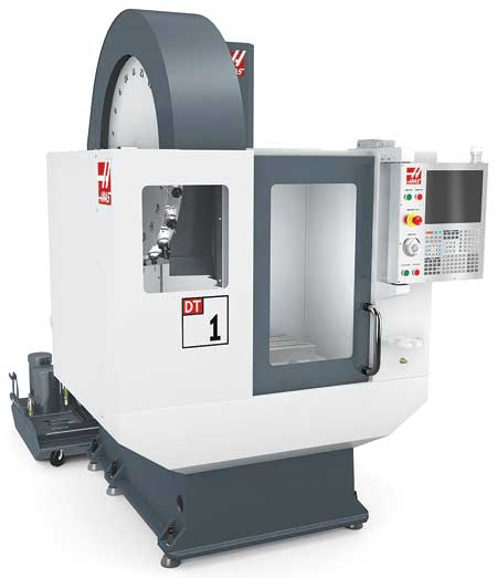 Haas Introduces DT-1 High-Speed Drill and Tap Machine