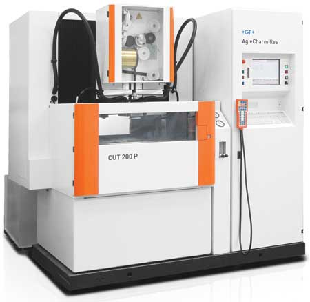 EDM Machine Features B-Axis and In-Process Inspection