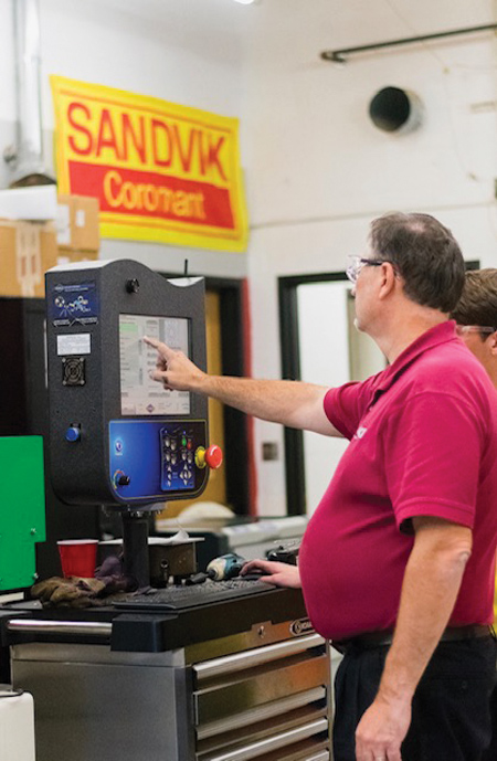 High School CADET Program Promotes Introduction to CNC and