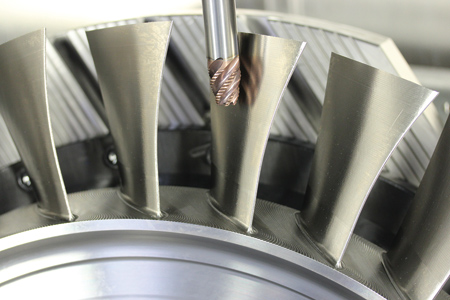 New Concepts In 5 Axis Blisk Machining