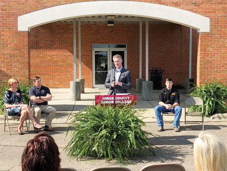 Mississippi's Haas Factory Outlet Partners with Jones County Junior