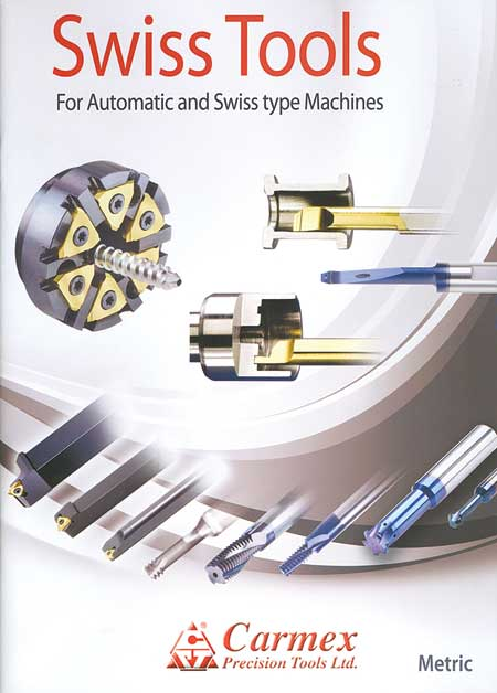 New Carmex Catalog Features Tooling for Swiss Type Machines