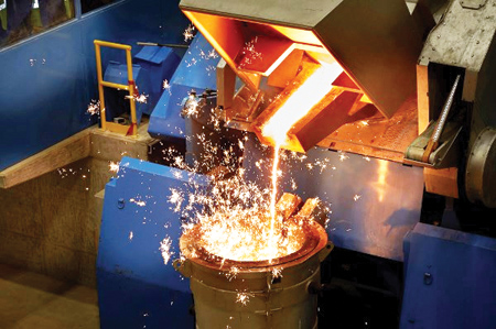 Brembo Celebrates First Pour at All-New Cast Iron Foundry