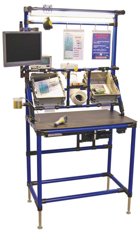 Creform Introduces New Heavy Duty Workstation