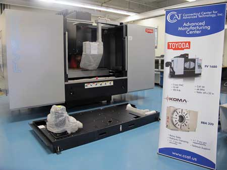 Toyoda Machine Tool Technology To Be Installed At Ccat