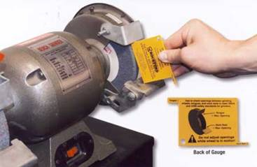 Rockford Systems Introduces New Bench Grinder Safety Gauge