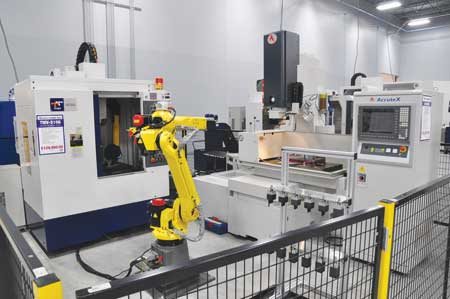 Live Demonstration Of Automated Machining Cell