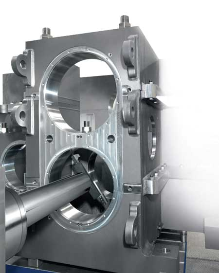 New t type horizontal boring machine