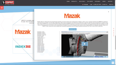 New Website Features CAD/CAM Software