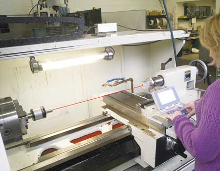 Pinpoint Laser Offers Measuring And Alignment System