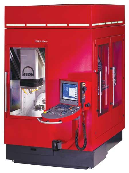 Kern Launches Compact Ultra Precision 5 Axis Vmc