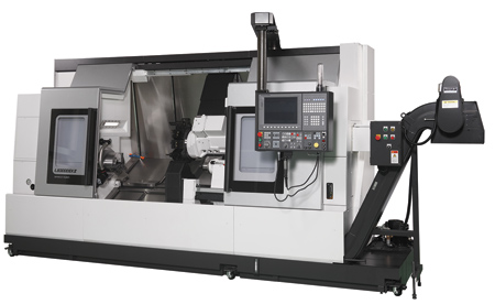 CNC Lathe Accommodates Large Workpieces with New Bed Length