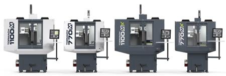 New Series of CNC Mills