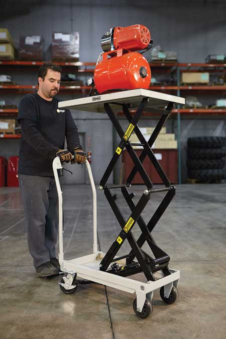 Expanded Line Of Hydraulic Lift Tables