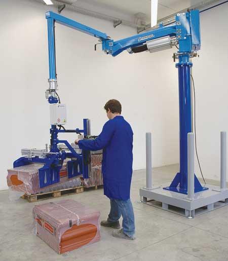 Ergonomic Industrial Manipulator : Haeco offers famatec friendly ergonomic manipulator