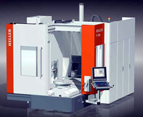 Heller Machine Tools Releases F Series 5 Axis Machining Centers