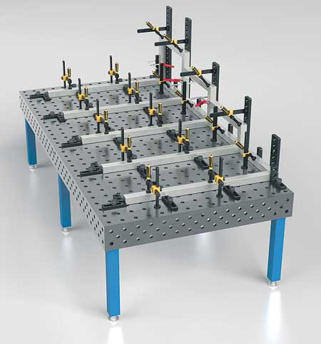 Siegmund Welding Tables Available From Strong Hand Tools
