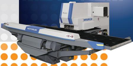 CNC Servo Motor Driven Ram Turret Punch Press