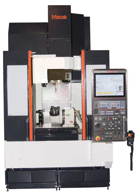 Mazak S Vertical Center Nexus Vcn Compact 5x Vertical