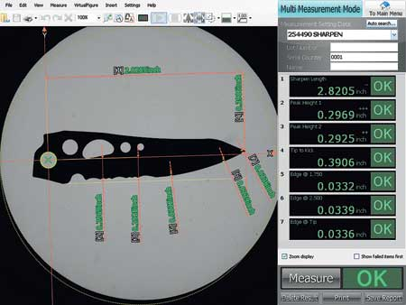 Measurement Vision Systems Simplify Inspection of Multiple Parts