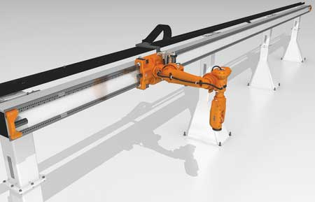 ABB Introduces Articulated Robot, Linear Gantry Combination