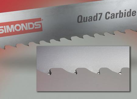 Quad 7 Carbide Tipped Band Saw Blades