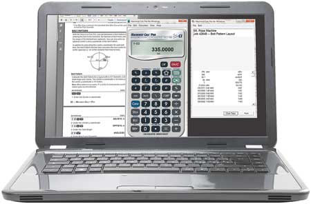 machinist calc pro 2 manual