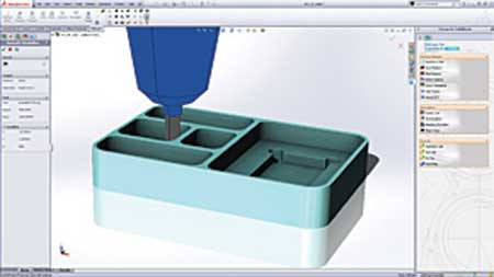 Delcam to Offer Free CAM for SolidWorks at SOUTH-TEC