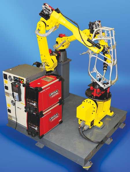 FANUC Robotics Offers Intelligent Welding with New R-30iB