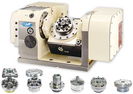 Rotary Table Designed For Workholding Flexibility